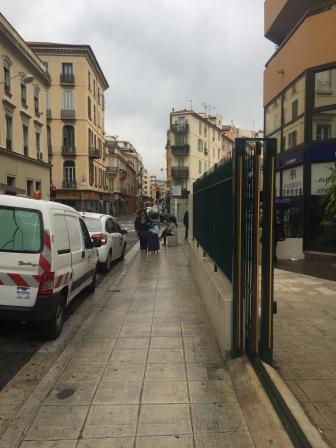 Rainy Day in Nice